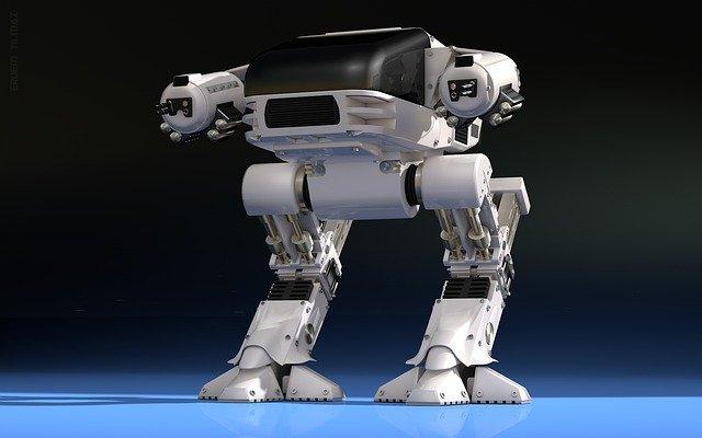 robot jako pokrok v technice