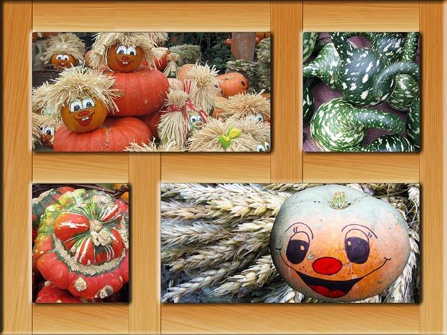 veselý podzimní plakát