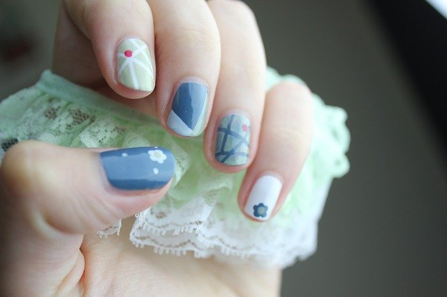 malované nehty