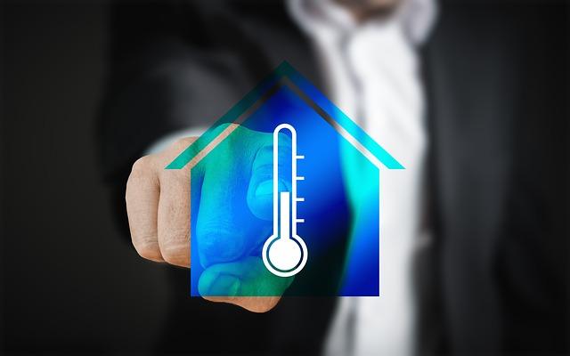 teplota domu