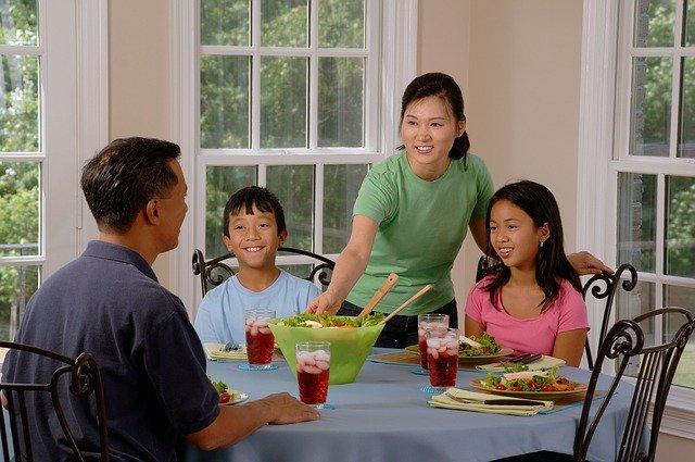 stravování rodiny