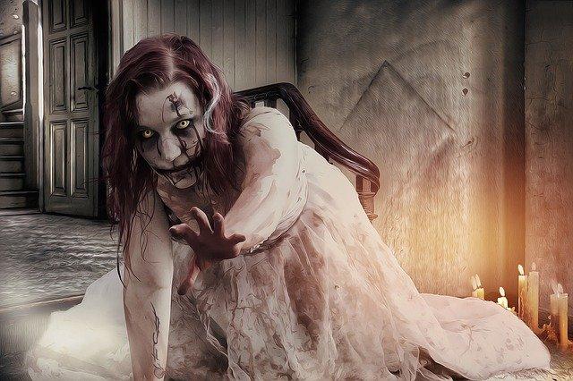 zombie dívka